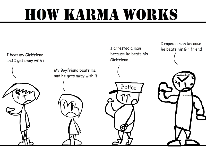 How karma should really work if i have my way keith for All about karma
